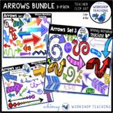 Arrows Bundle (Sets 1, 2 and 3) Clip Art