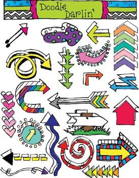 Arrows COMBO Clipart Set