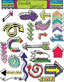 Arrows COMBO Clipart Set