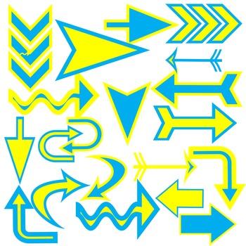 Clip Art:  Arrows