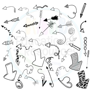 Arrows Clipart 50 Included!