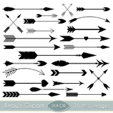Arrows Clipart Black Arrows Clip Art Tribal Scrapbooking A