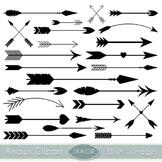 Arrows Clipart Black Arrows Clip Art Tribal Scrapbooking A