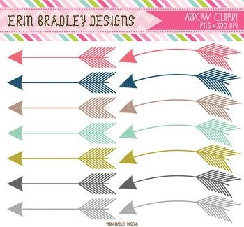 Arrows Clipart Graphics Bundle