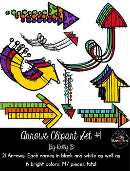 Arrows Clipart Set #1