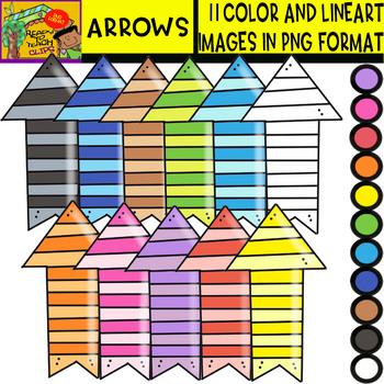 Arrows - Cliparts Set - 11 Items
