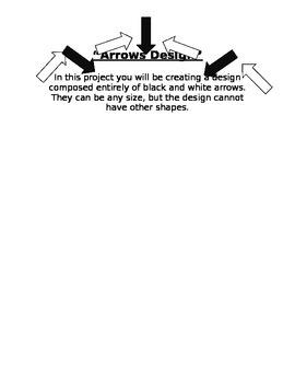 Arrows Design Sketch