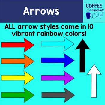 Arrows Clipart Growing Bundle