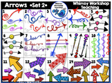 Arrows SET 2 Clip Art - Whimsy Workshop Teaching