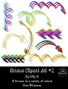Arrows Set #2 Clipart by Kelly B