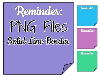 Arrows & Sticky Notes Clip Art - Use with Digital Resources!