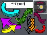Arrows {TeacherToTeacher Clipart}