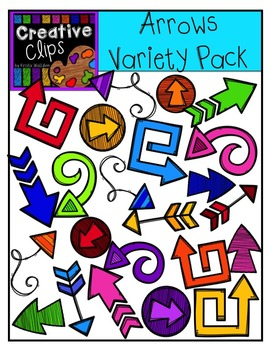 Arrows Variety Pack {Creative Clips Digital Clipart}