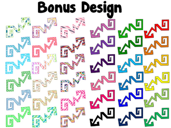 Arrows Variety Pack - Pattern {Passion For Teaching Digital Clipart}