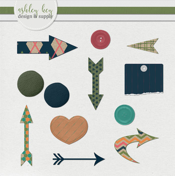 Arrows and More Clipart- Craft Paper Pop Collection