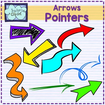 Arrows and Pointers Clip art {96 IMAGES}