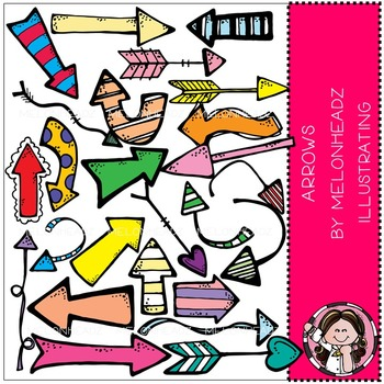 Melonheadz: Arrows clip art - COMBO PACK