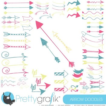 Arrows clipart commercial use, vector graphics, digital cl