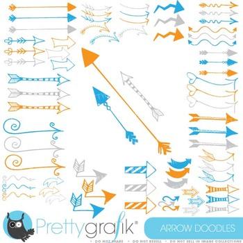 Arrows clipart commercial use, vector graphics, digital cl