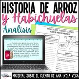 Cuento Arroz y Habichuelas Estructura Análisis Examen | Puerto Rico Short Story