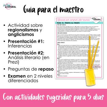 Cuento Arroz y Habichuelas Estructura Análisis Examen   Puerto Rico Short Story