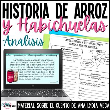 Cuento Arroz Y Habichuelas Estructura Análisis Puerto Rico