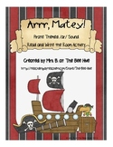 Arrr, Matey: A Pirate Themed Read and Write the Room Activity for the /ar/ Sound