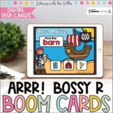 Arrr!  Pirate Themed Bossy R BOOM Cards | Digital Task Car
