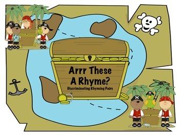 Arrr These A Rhyme?