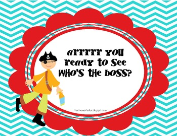 Arrr You Ready to Work on Bossy R?