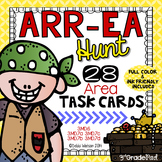 Area Task Cards :Full Color & Ink Friendly Included