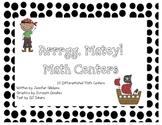 Arrrgg Matey! Math Centers