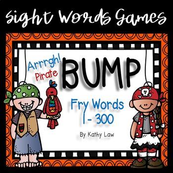 Arrrgh! Pirate BUMP - Fry Words 1-300