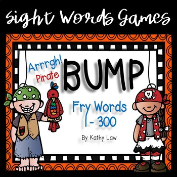 Arrrgh! Piratel BUMP - Fry Words 1-300