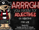 Adjectives Unit