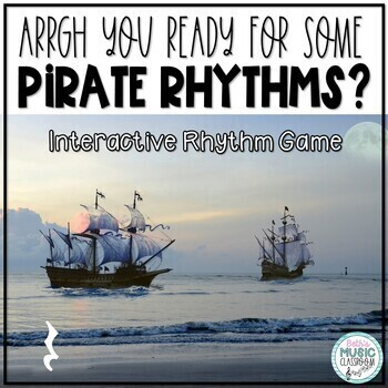 Arrrr You Ready for Some Pirate Rhythms? Game -Ta rest