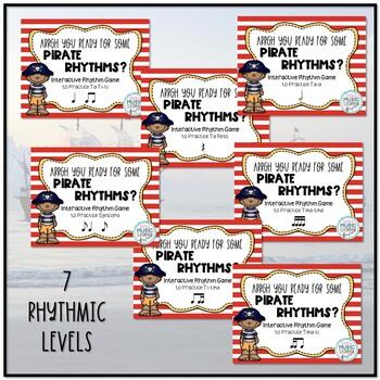 Arrrrgh You Ready for Some Pirate Rhythms? BUNDLE - 7 GAMES!