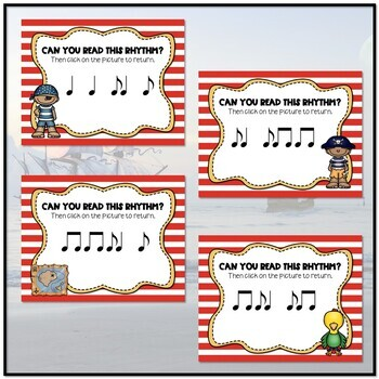 Arrrrgh You Ready for Some Pirate Rhythms? Game - Syncopa