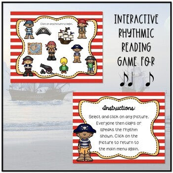 Arrrrgh You Ready for Some Pirate Rhythms? Game - Syncopa