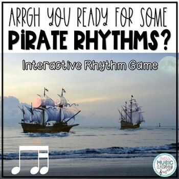 Arrrrgh You Ready for Some Pirate Rhythms? Game - Ti-tika