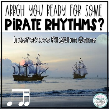 Arrrrgh You Ready for Some Pirate Rhythms? Game - Ti-tika