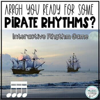 Arrrrgh You Ready for Some Pirate Rhythms? Game - Tika-tika