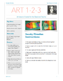 Sneaky Piranhas - Art 1-2-3 Lesson - Art Lesson for the Cl