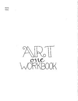 Art: Complete Art I Curriculum (Student Workbook)