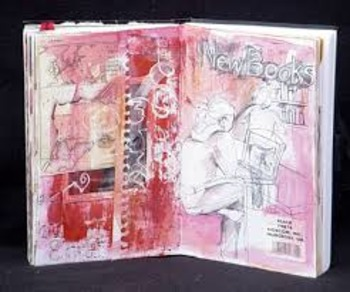 Art 1 Sketchbook Assignments by 6 weeks