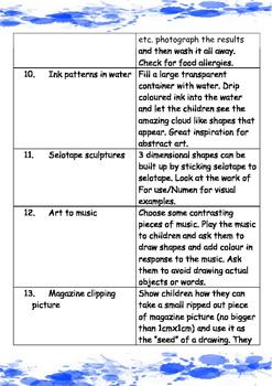 Art. 101 Amazing Ideas for Art Lessons