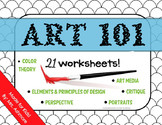 Art 101 Unit for Elementary Students