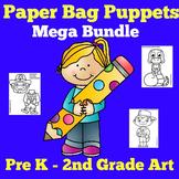 Puppets | Preschool Kindergarten 1st Grade | Paper Bag Pup