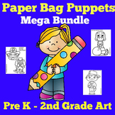 Paper Bag Puppets   Printable