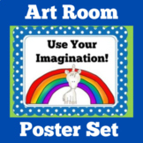 Art Room Posters   Classroom Decorations   Bulletin Board